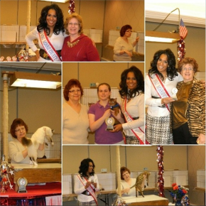 I was honored to present the prizes to the top cats winners.